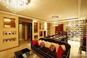 精选四居客厅欧式装修效果图片