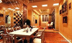 精美四居餐厅欧式装修图