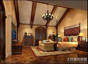 144平米欧式别墅卧室装饰图片大全