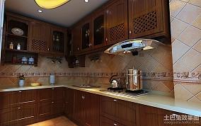 热门小户型厨房中式装修设计效果图