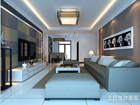 小户型客厅现代装修设计效果图片大全