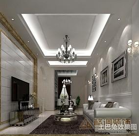 精美129平米现代复式客厅装修图片欣赏