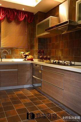 精选77平米二居厨房东南亚装饰图