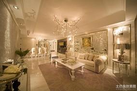 热门面积92平简约三居客厅装修图片大全