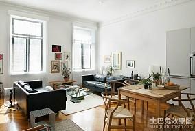 2018精选107平米三居客厅欧式实景图片欣赏