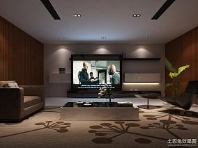 精选119平米四居休闲区现代效果图