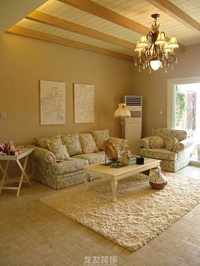 精美面积85平小户型客厅欧式装修实景图片
