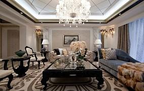 热门欧式一居客厅装修实景图片大全