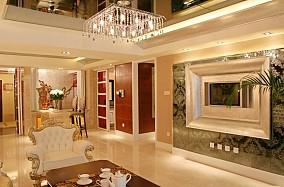 97平米三居客厅欧式装修实景图