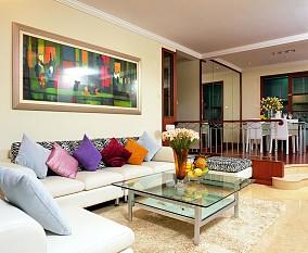 热门92平方三居客厅现代装饰图片欣赏