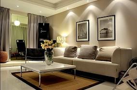 热门76平米简约小户型客厅装饰图