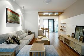 简约客厅沙发装饰图