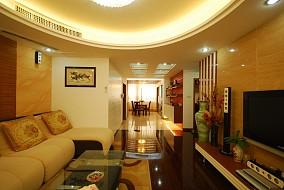 面积92平简约三居客厅装修设计效果图片