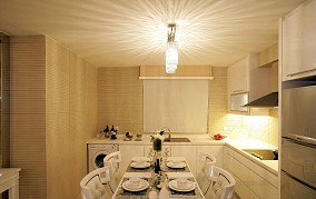 94平米三居餐厅简约装修效果图片大全
