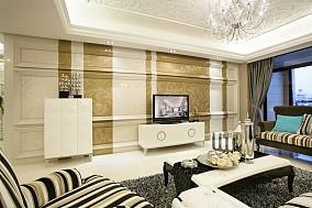 精美欧式一居客厅效果图片大全
