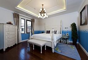 精选102平方三居卧室欧式装修设计效果图
