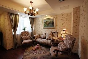 热门81平米美式小户型客厅设计效果图