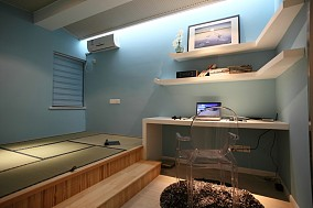 84平米现代小户型休闲区装饰图片欣赏