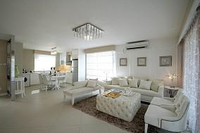 精选面积77平简欧二居客厅装修欣赏图片大全