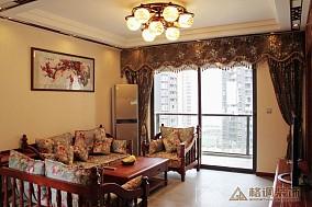 精选面积133平中式四居客厅装修设计效果图片大全