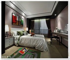 99平米三居儿童房现代装饰图片欣赏