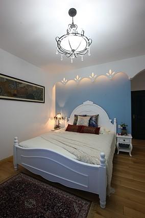 热门一居卧室地中海装修实景图片欣赏