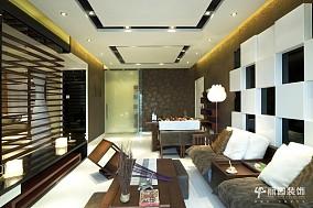 精美大小101平现代三居客厅装修实景图片大全