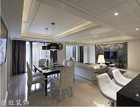 热门面积76平欧式二居餐厅装修效果图片欣赏