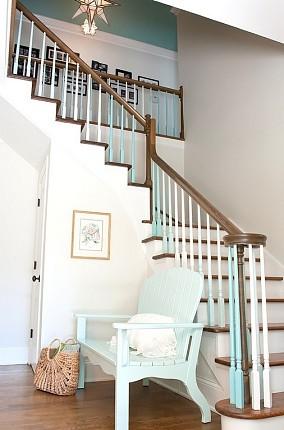 复式楼楼梯装修效果图欣赏