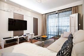面积79平小户型客厅现代欣赏图片