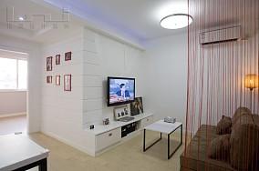 精选面积79平小户型客厅现代装饰图片欣赏