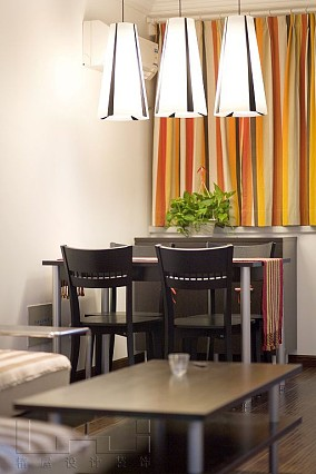 86平米现代小户型餐厅效果图片大全