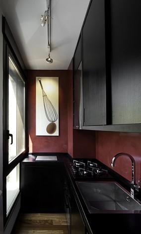 现代风格小厨房装修效果图欣赏