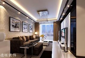 2018现代小户型客厅装修欣赏图片