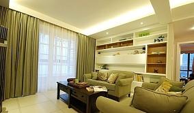 热门83平米现代小户型客厅实景图片欣赏