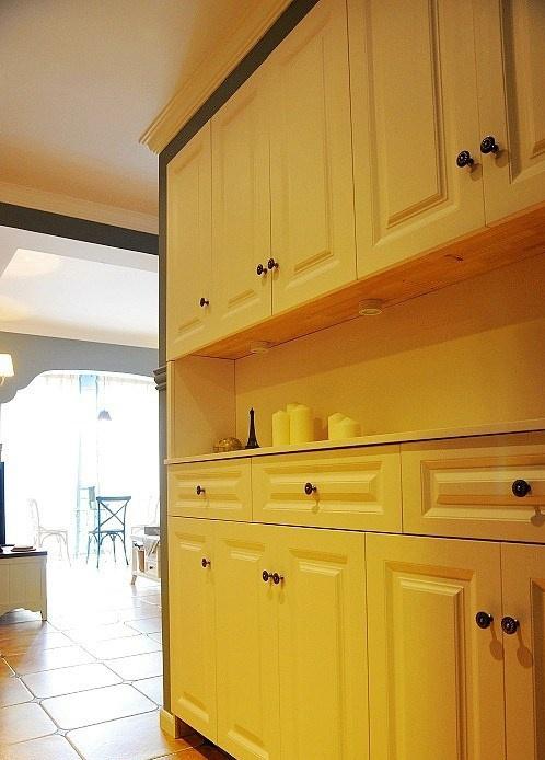 热门72平米欧式小户型厨房装修图