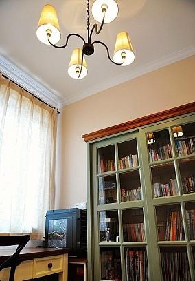 精选76平米欧式小户型书房实景图片欣赏欧式豪华家装装修案例效果图