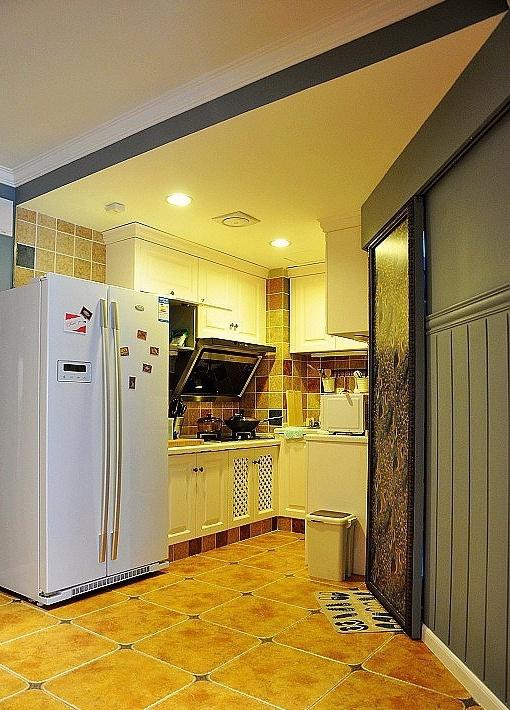 小户型厨房欧式装修图片