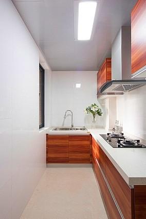 精选面积87平小户型厨房简约装修实景图