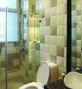 干湿分离卫生间卫生间隔断图片