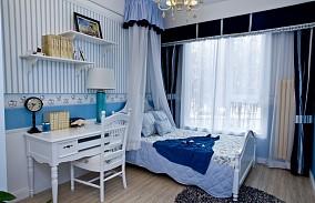 精选80平米二居儿童房地中海效果图片大全