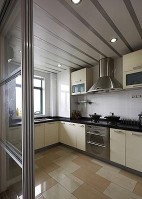 热门面积88平小户型厨房简约实景图片大全