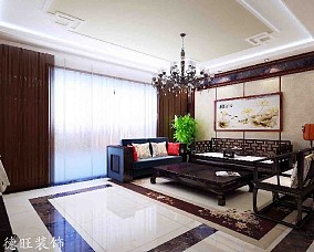 热门二居客厅中式装修图片