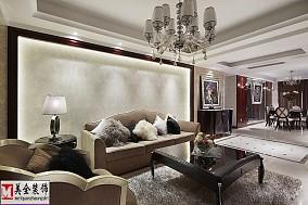 82平米简约小户型客厅实景图片欣赏