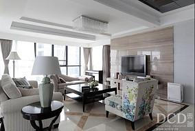 简欧风格家居客厅装修设计