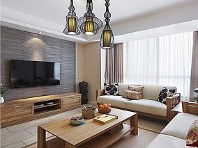 精选小户型客厅中式装修欣赏图