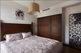 热门小户型卧室中式装饰图片