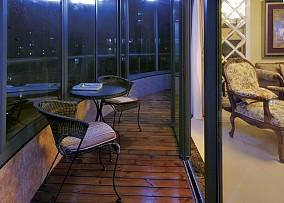 封闭式阳台设计图片