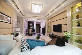 热门大小79平简约二居客厅装修设计效果图片欣赏