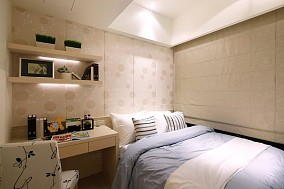 精选71平米现代小户型卧室效果图片大全